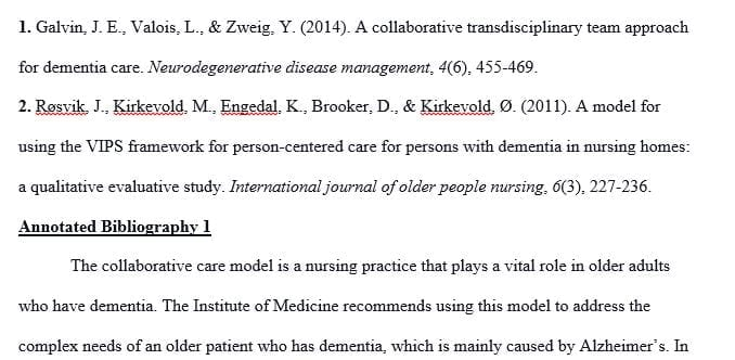 Compare the care models for nursing practice specific to the older adult.