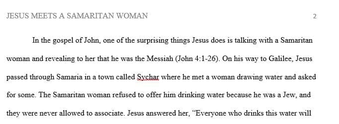 What is something Jesus does in the gospel of John that surprises you?